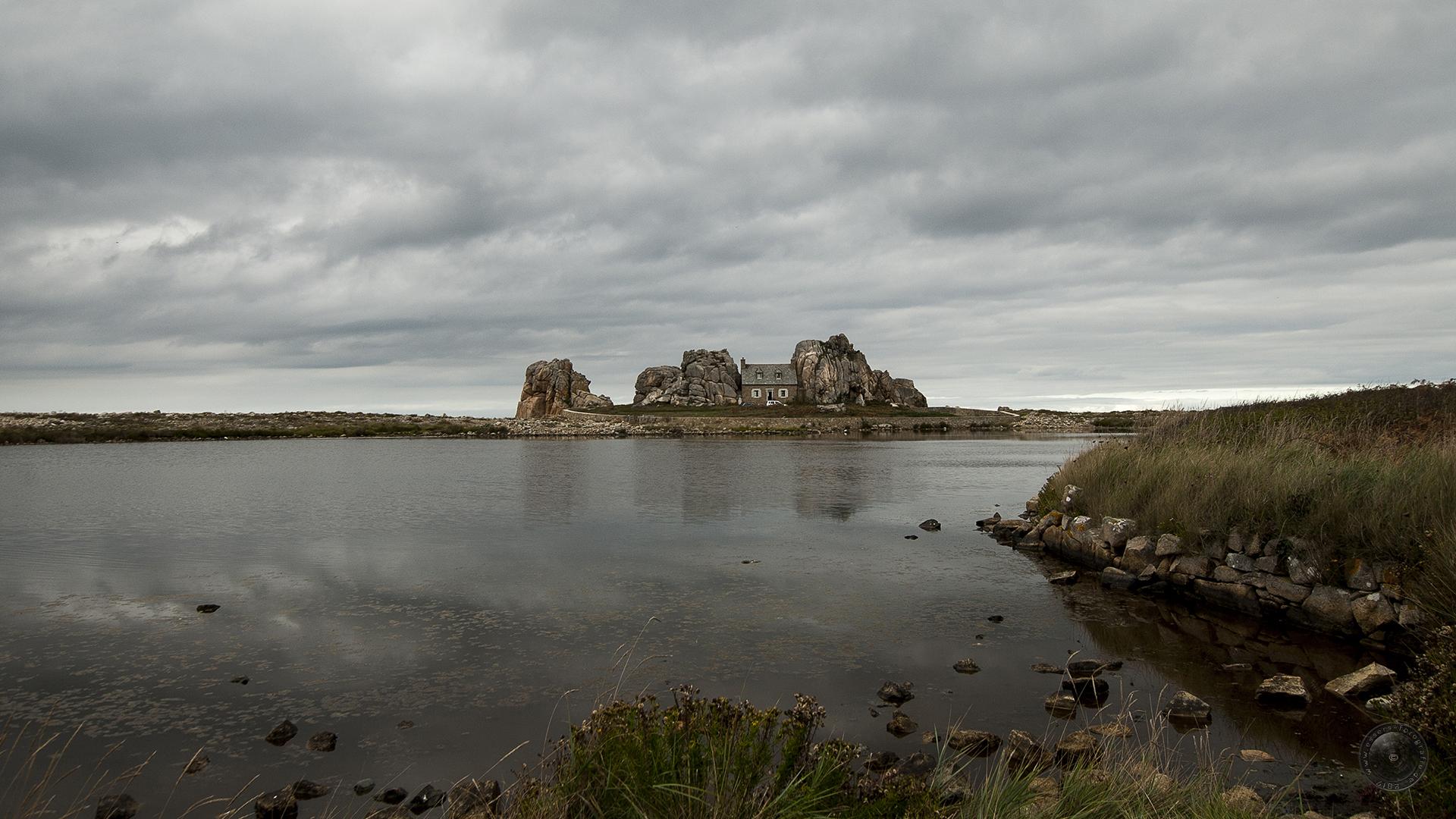 Castel Meur, in Plougrescant im Département Côtes-d'Armor in der Bretagne