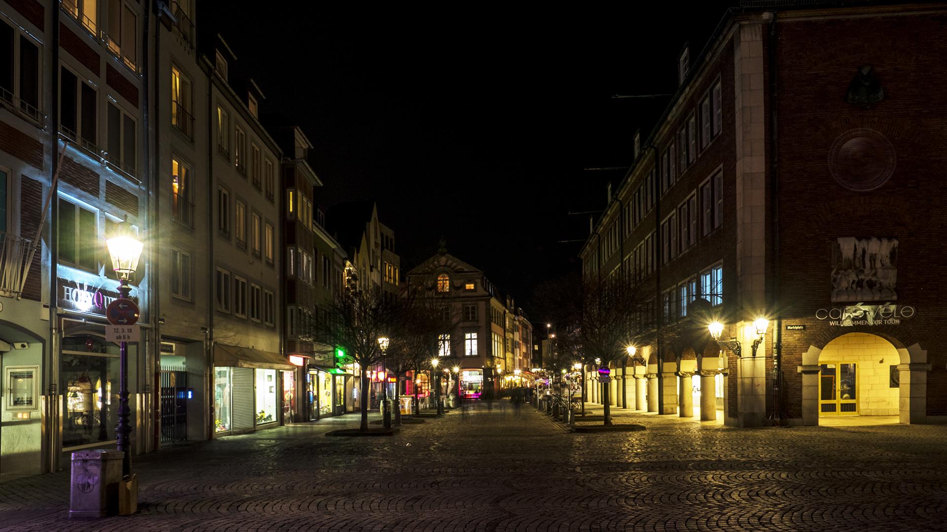 Eine Altstadt Ecke Düsseldorf