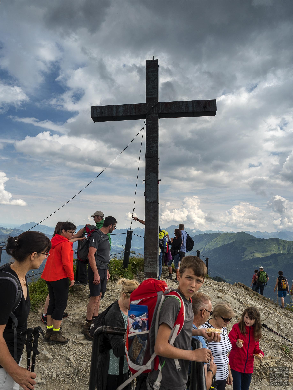Gipfelkreuz Walmendinger Horn