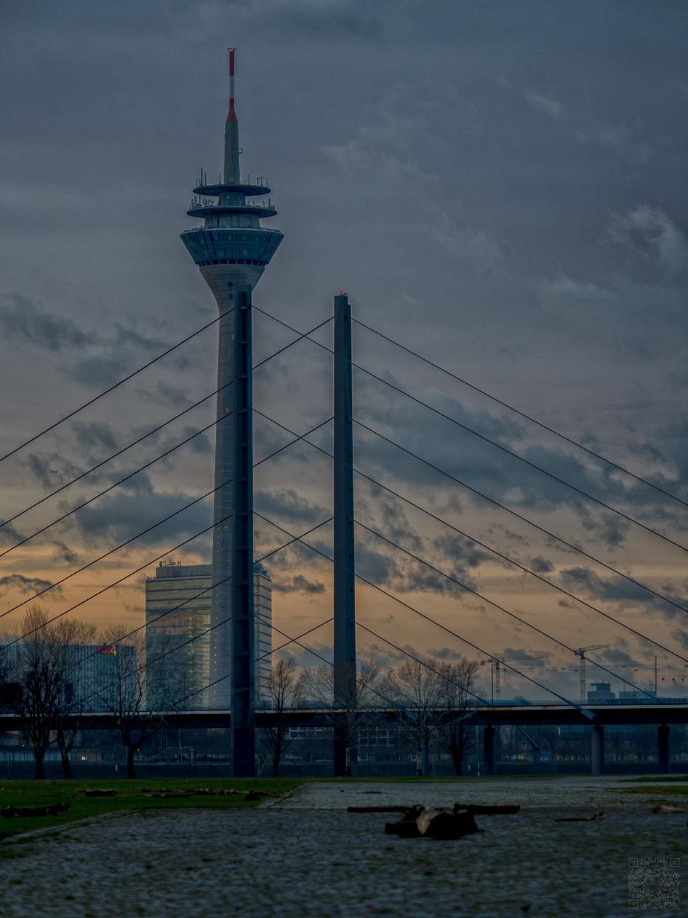 Sonnenaufgang Düsseldorf