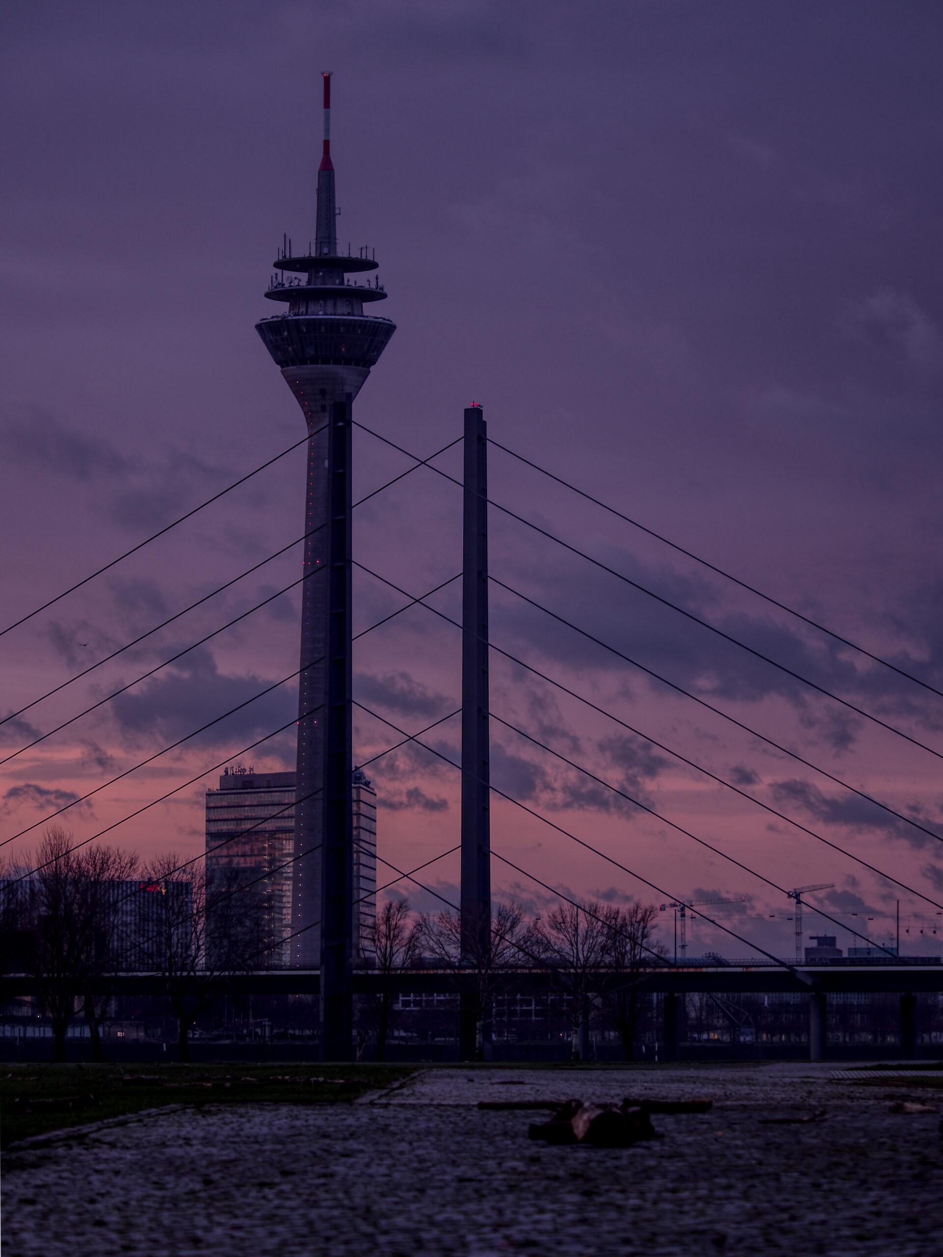 Sonnenaufgang Düsseldorf Januar 2020