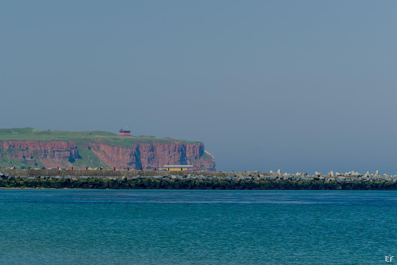 Tag2 Blick auf die Nordküste von der Düne aus