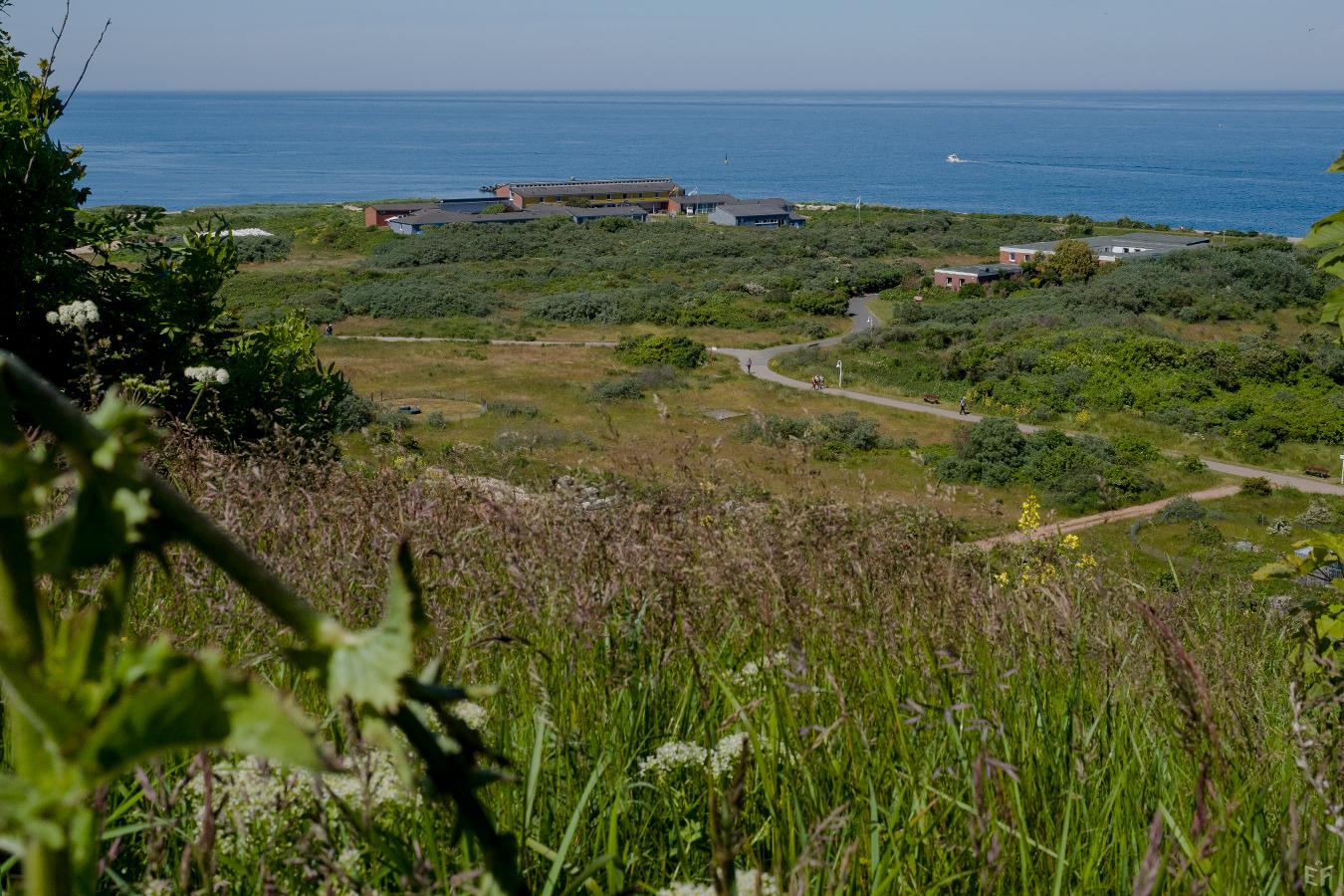 Tag1 Blick auf die Nordküste und Jugendherberge